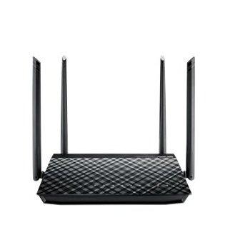 ASUS RT-AC1200GU router inalámbrico Doble banda (2,4 GHz   5 GHz) Gigabit Ethernet Negro