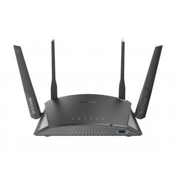D-Link DIR-2660 router inalámbrico Doble banda (2,4 GHz   5 GHz) Gigabit Ethernet Negro