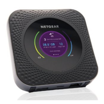 Netgear MR1100 router inalámbrico Doble banda (2,4 GHz   5 GHz) Gigabit Ethernet 3G 4G Negro