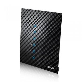 ASUS RT-AC52U router inalámbrico Doble banda (2,4 GHz   5 GHz) Ethernet rápido Negro