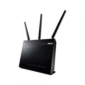 ASUS RT-AC68U router inalámbrico Doble banda (2,4 GHz   5 GHz) Gigabit Ethernet 3G 4G