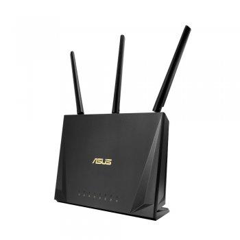 ASUS RT-AC85P router inalámbrico Doble banda (2,4 GHz   5 GHz) Gigabit Ethernet Negro