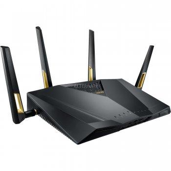 ASUS RT-AX88U router inalámbrico Doble banda (2,4 GHz   5 GHz) 3G 4G Negro