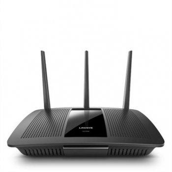 Linksys AC1900 router inalámbrico Doble banda (2,4 GHz   5 GHz) Gigabit Ethernet Negro