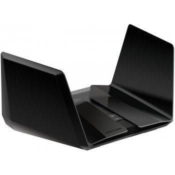 Netgear Nighthawk AX12 router inalámbrico Doble banda (2,4 GHz   5 GHz) Gigabit Ethernet Negro