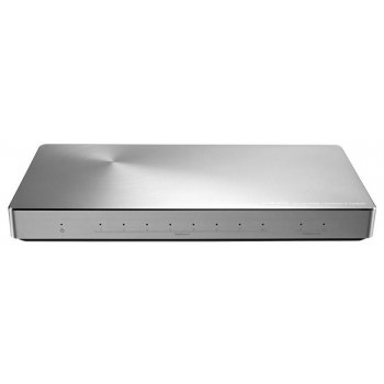 ASUS XG-U2008 No administrado Gigabit Ethernet (10 100 1000) Plata
