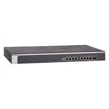 Netgear XS708E Gestionado L2 10G Ethernet (100 1000 10000) Negro