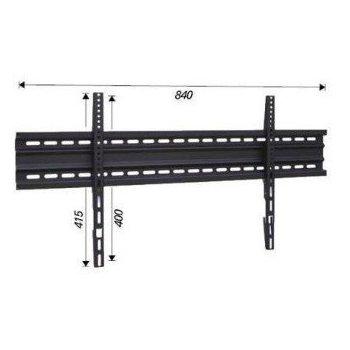 "Nilox AMOM06139 soporte de pared para pantalla plana 160 cm (63"") Negro"