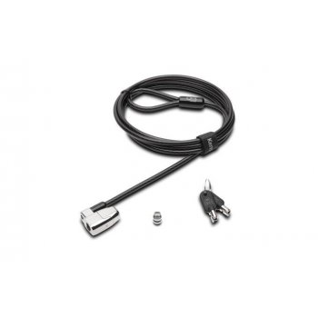 Kensington K66638EU cable antirrobo Negro, Plata 1,8 m