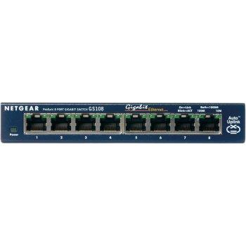 Netgear ProSafe 8-Port Gigabit Desktop Switch No administrado