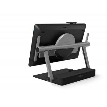 "Wacom ACK62801K soporte de mesa para pantalla plana 61 cm (24"") Independiente Negro, Gris"