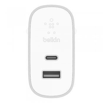 Belkin BOOST↑CHARGE Interior Plata, Blanco