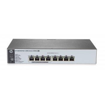 Hewlett Packard Enterprise 1820-8G-PoE+ (65W) Gestionado L2 Gigabit Ethernet (10 100 1000) Gris 1U Energía sobre Ethernet (PoE)