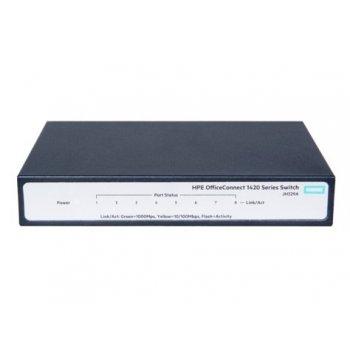 Hewlett Packard Enterprise OfficeConnect 1420 8G No administrado L2 Gigabit Ethernet (10 100 1000) Gris 1U