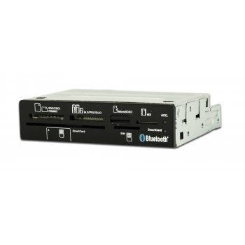 CoolBox CR650-BT lector de tarjeta Interno Negro