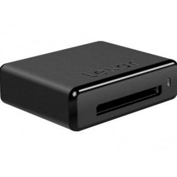 Lexar Pro CFR1 Workflow CF Reader USB 3.0 lector de tarjeta Negro USB 3.0 (3.1 Gen 1) Type-A