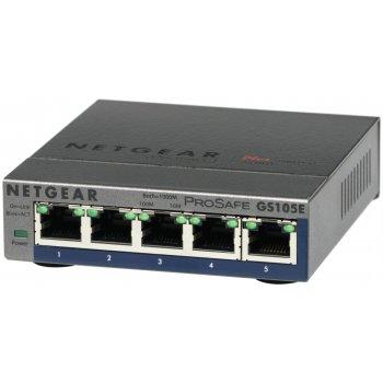 Netgear GS105E-200PES switch Gestionado L2 L3 Gigabit Ethernet (10 100 1000) Gris