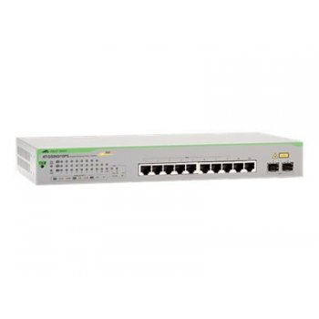 Allied Telesis AT-GS950 10PS-50 Gestionado Gigabit Ethernet (10 100 1000) Gris Energía sobre Ethernet (PoE)