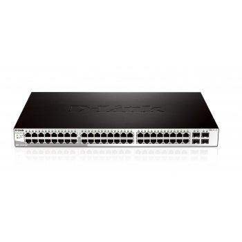 D-Link DGS-1210-52 switch Gestionado L2 Gigabit Ethernet (10 100 1000) Negro 1U