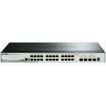 D-Link DGS-1510 Gestionado L3 Gigabit Ethernet (10 100 1000) Negro