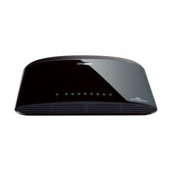 D-Link DES-1008D No administrado Fast Ethernet (10 100) Negro
