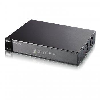 Zyxel ES1100-16P switch No administrado Negro Energía sobre Ethernet (PoE)