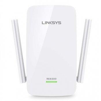 Linksys AC750 punto de acceso WLAN 300 Mbit s Blanco