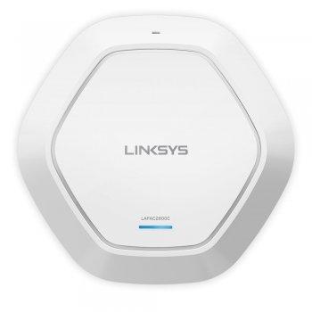 Linksys LAPAC2600C punto de acceso WLAN 2600 Mbit s Energía sobre Ethernet (PoE) Blanco