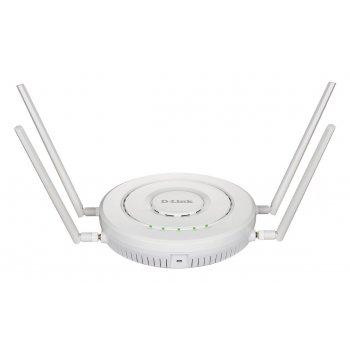 D-Link DWL-8620APE punto de acceso WLAN 2533 Mbit s Energía sobre Ethernet (PoE) Blanco