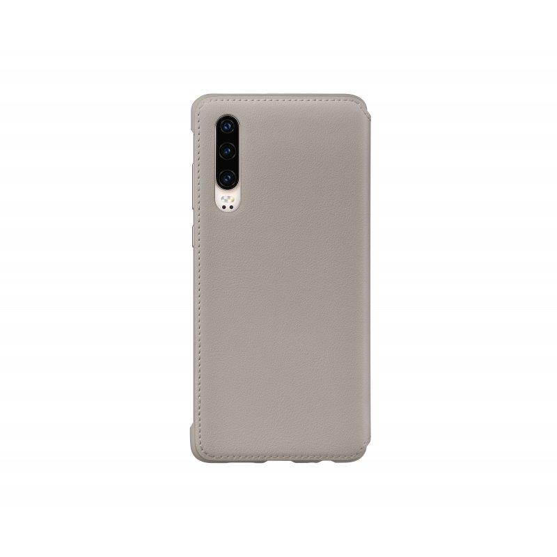 "Huawei 51992858 funda para teléfono móvil 15,5 cm (6.1"") Funda cartera Caqui"