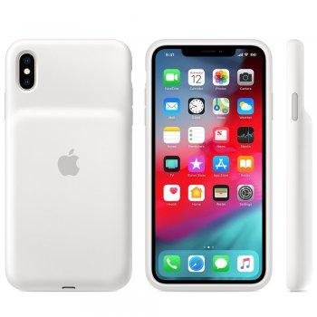 "Apple MRXR2ZM A funda para teléfono móvil 16,5 cm (6.5"") Funda blanda Blanco"