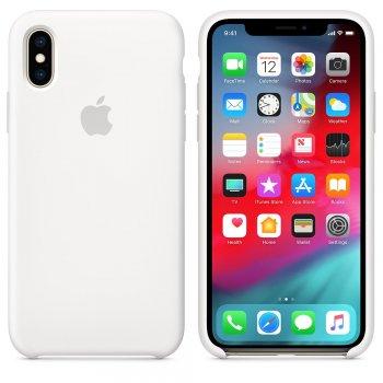 "Apple MRW82ZM A funda para teléfono móvil 14,7 cm (5.8"") Funda blanda Blanco"