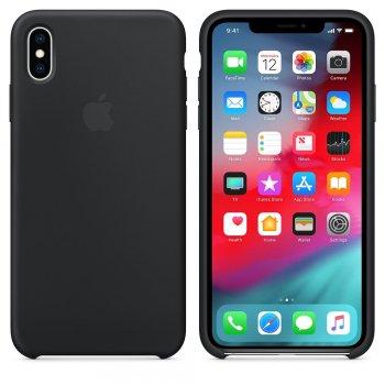 "Apple MRWE2ZM A funda para teléfono móvil 16,5 cm (6.5"") Funda blanda Negro"