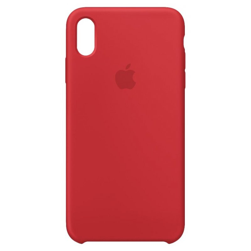"Apple MRWH2ZM A funda para teléfono móvil 16,5 cm (6.5"") Funda blanda Rojo"