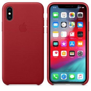 "Apple MRWK2ZM A funda para teléfono móvil 14,7 cm (5.8"") Rojo"