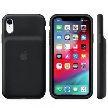 "Apple MU7M2ZM A funda para teléfono móvil 15,5 cm (6.1"") Funda blanda Negro"