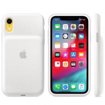 "Apple MU7N2ZM A funda para teléfono móvil 15,5 cm (6.1"") Funda blanda Blanco"