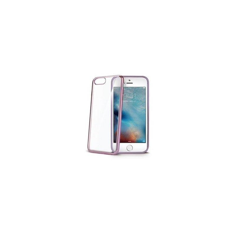 "Celly LASER800RG funda para teléfono móvil 11,9 cm (4.7"") Oro rosado"
