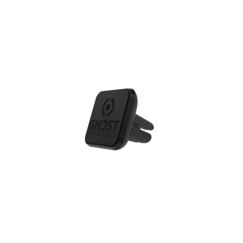 Celly GHOSTVENT soporte Reproductor de MP3, Teléfono móvil smartphone, Navegante Negro Soporte pasivo