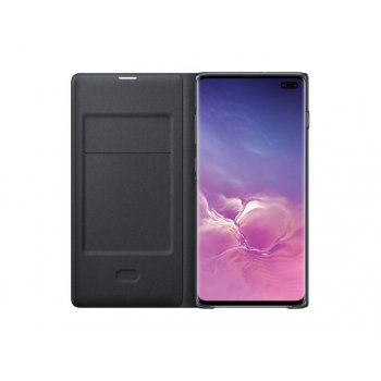 "Samsung EF-NG975 funda para teléfono móvil 16,3 cm (6.4"") Libro Negro"
