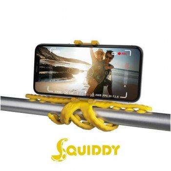Celly Squiddy tripode Smartphone Cámara de acción 6 pata(s) Amarillo