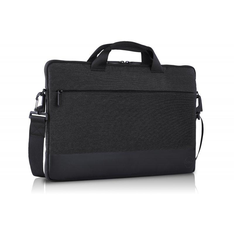"DELL PF-SL-BK-4-17 maletines para portátil 35,6 cm (14"") Funda Negro, Gris"