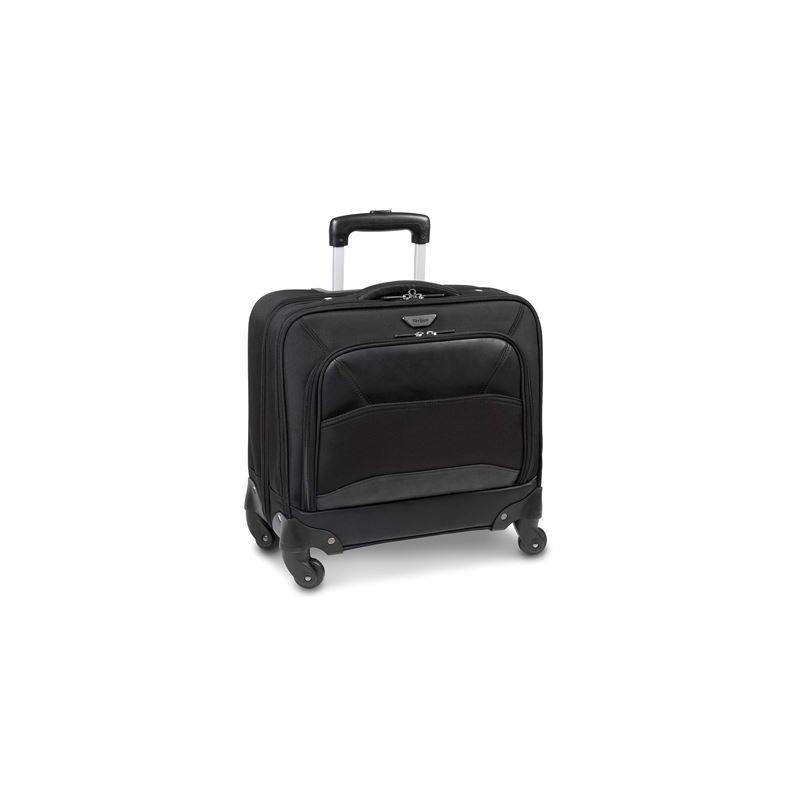 "Targus Mobile VIP 15.6"" Roller maletines para portátil 39,6 cm (15.6"") Maletín con ruedas Negro"