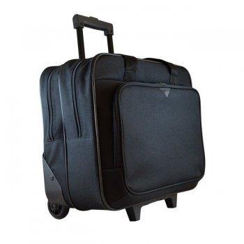 "Tech air TAN1901 maletines para portátil 39,6 cm (15.6"") Maletín con ruedas Negro"