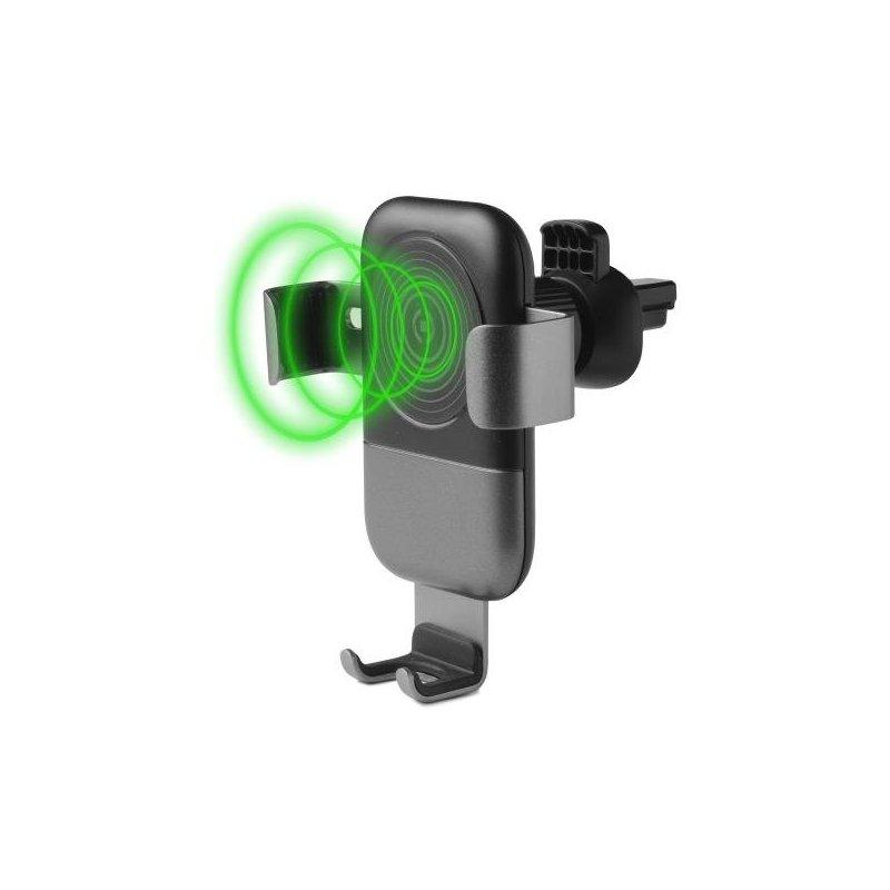 Celly GRAVITYCHARGE cargador de dispositivo móvil Auto Negro