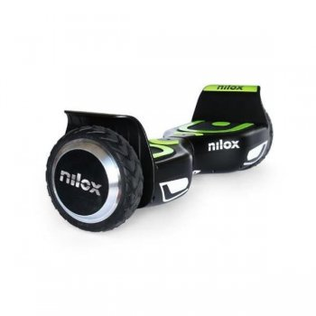 Nilox 30NXBK65NWN01 scooter auto balanceado 10 kmh Negro, Verde 4300 mAh