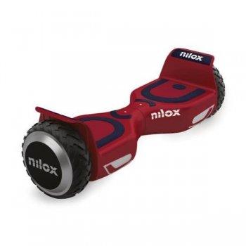 Nilox 30NXBK65NWN05 scooter auto balanceado 10 kmh Azul, Rojo 4300 mAh