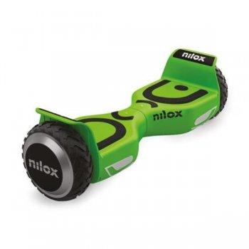 Nilox 30NXBK65NWN06 scooter auto balanceado 10 kmh Negro, Verde 4300 mAh