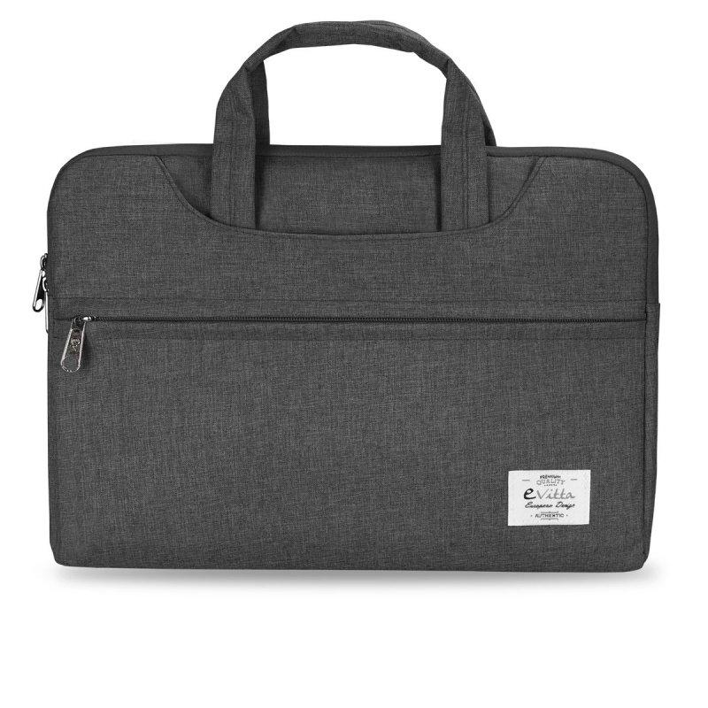 "e-Vitta Business maletines para portátil 35,6 cm (14"") Funda Gris"