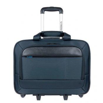 "Mobilis Executive 3 maletines para portátil 40,6 cm (16"") Maletín con ruedas Negro, Azul"